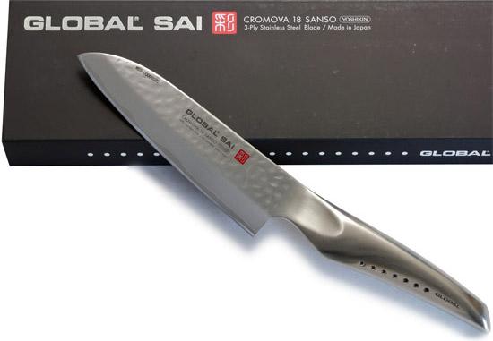 GLOBAL SAI KNIVES - Made in Japan by Yoshikin